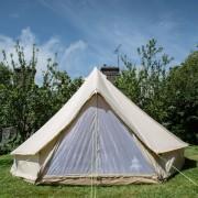 5m tent in garden 2