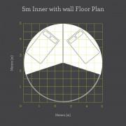 5m_InnerWithWall_FloorPlanAndBed