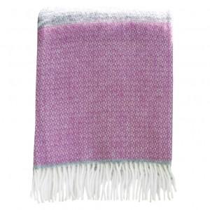 Pink & grey blanket