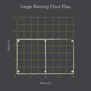 Large Awning Plus, floor plan