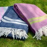 fishbone blankets