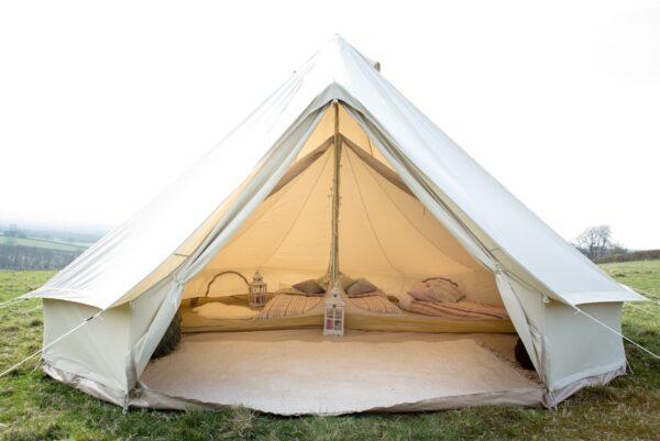 single space inner inside 5m bell tent