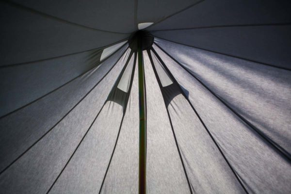 grey bell tent