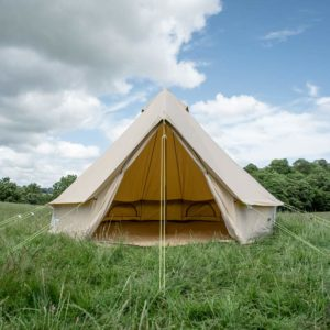 4m bell tent camping