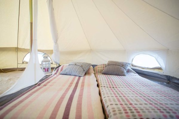 4m bell tent with inner