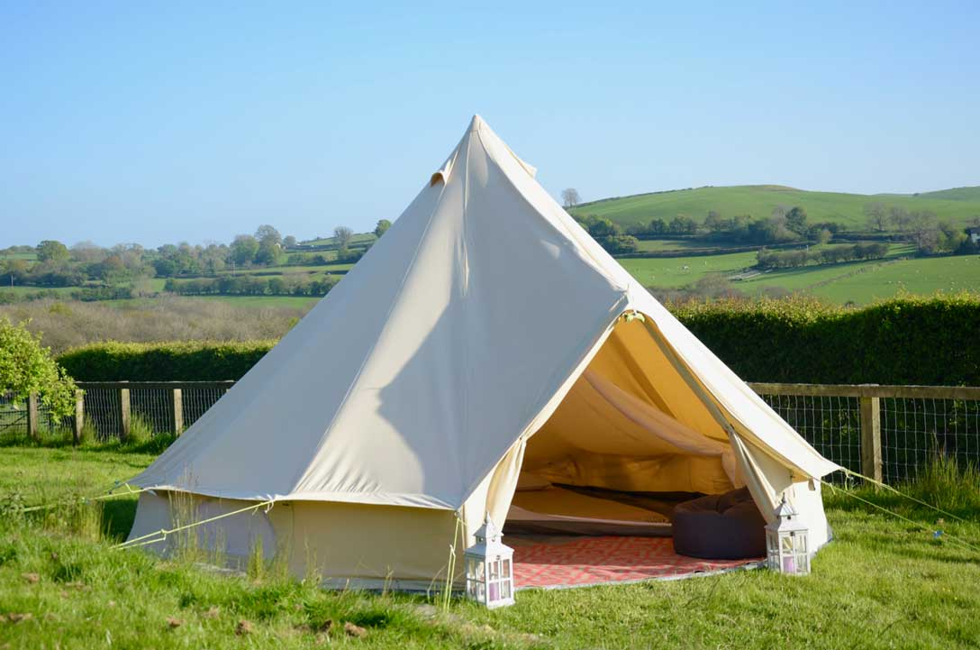 5m Bell tent with inner