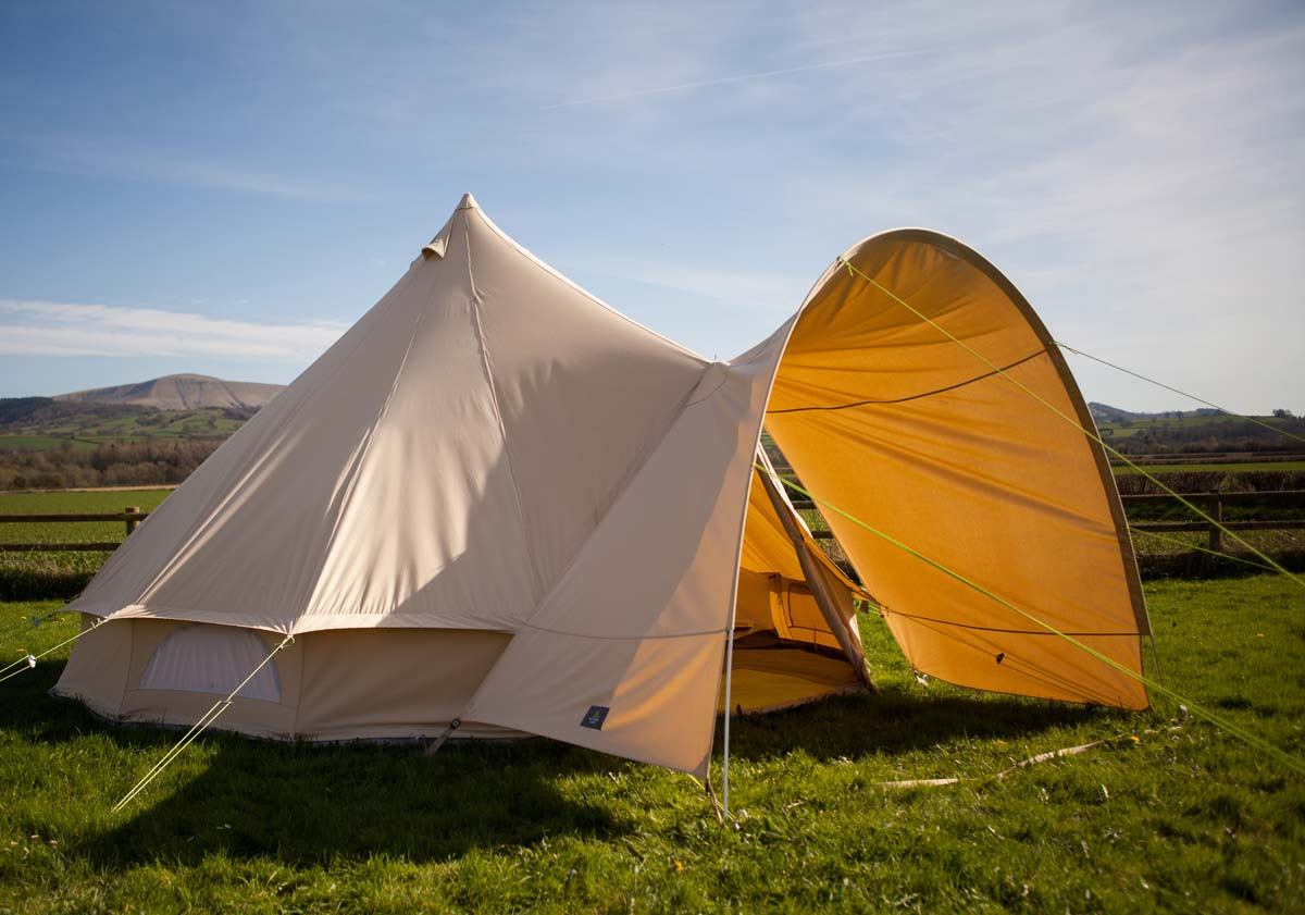 Bell Tent Porch For Use With 4m 5m 6m Bell Tent Bell Tent
