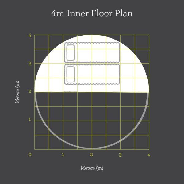 4m inner floor plan
