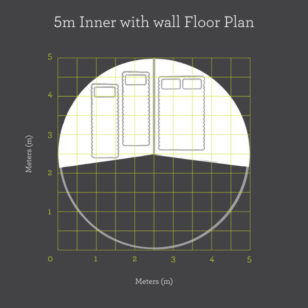 5m Inner With Wall floor plan
