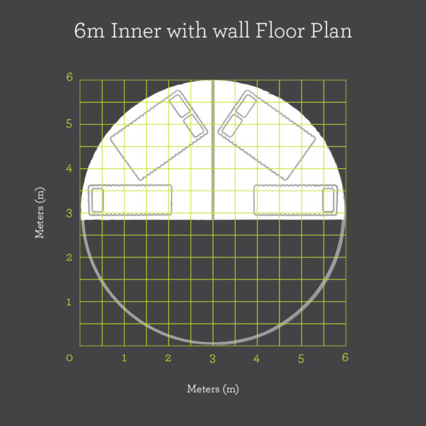 6m Inner With Wall Floor Plan