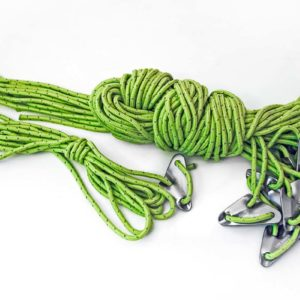 Full set of guy ropes