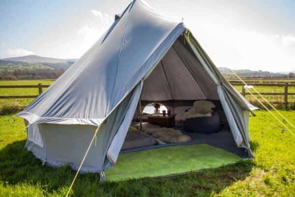 bell tent door mat