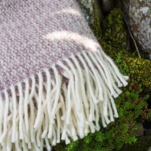 Natural beige blanket