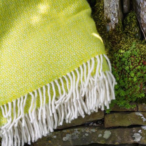 Zesty Green blanket