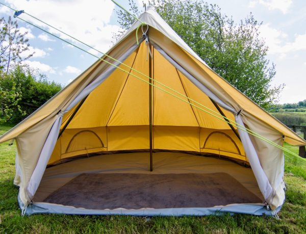 bell tent rug