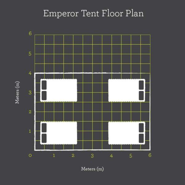 Emperor floor plan