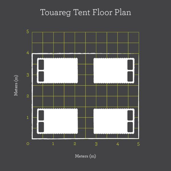 Touareg floor plan