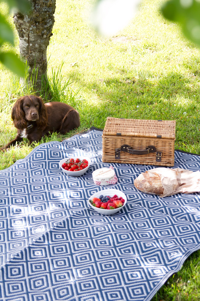 Recycled picnic mat