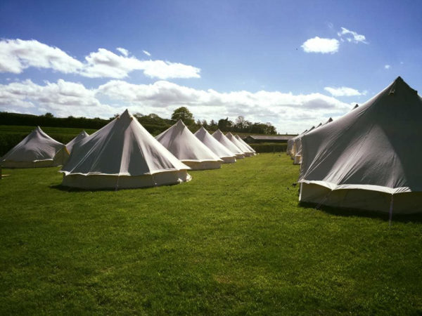 Glamping Wales bell tent village