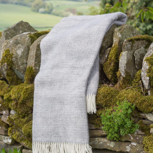 Grey Wool Blanket