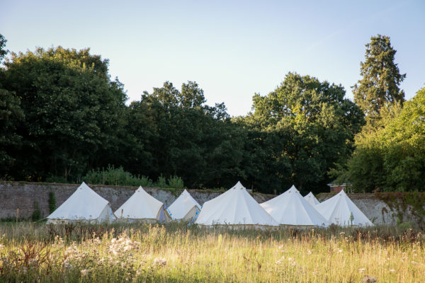 Oppidan Camp bell tent village