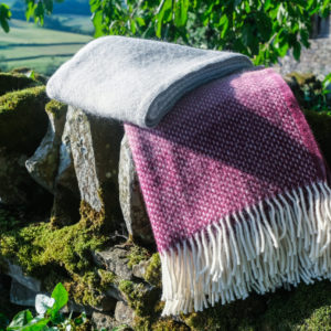 Rosewood Ombre Blanket