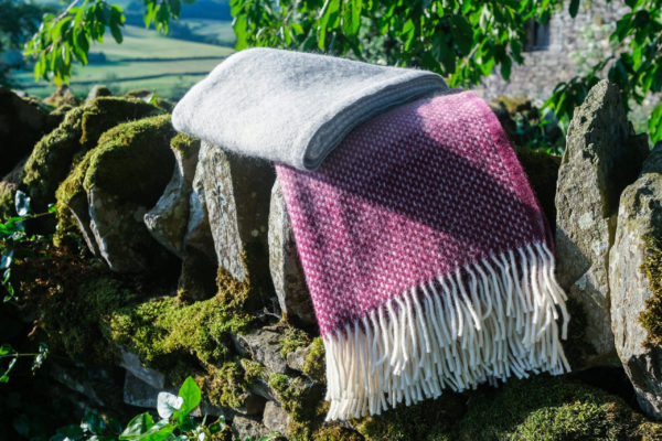 Rosewood Ombre Blanket