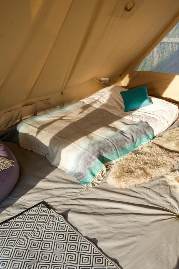 Seaside Blue Ombre Blanket