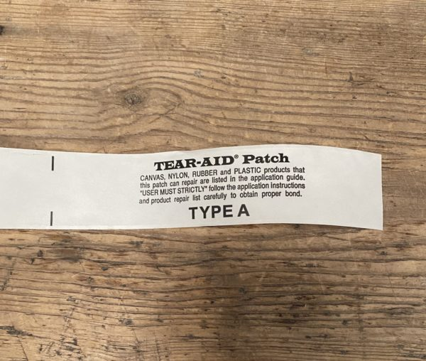 Tear aid strip - Type A